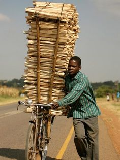 Loaded in Africa bicycle ride of a lifetime. We Are The World, People Around The World, Around The Worlds, Tricycle, Cargo Bike, 3rd Wheel, Out Of Africa, Beautiful World, Transportation