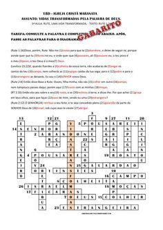 5ª AULA: RUTE, UMA VIDA TRANSFORMADA - 28/09/2014