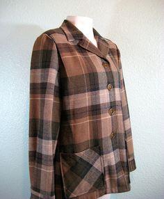 Vintage Pendleton Originals 49er Style Jacket by buyathreadvintage