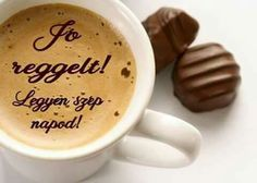 Good Morning Coffee, Morning Greetings Quotes, I Love Coffee, Latte, Healthy, Tableware, Food, Pictures, Good Morning