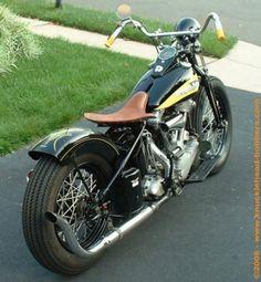 1939 Harley Knucklehead Bobber: