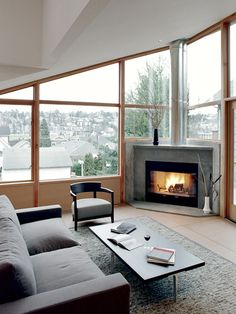 Corner Fireplace Design, Pictures, Remodel, Decor and Ideas