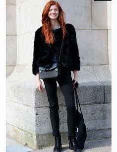 Models Off Duty: PFW AW14 Street Style | ELLE UK