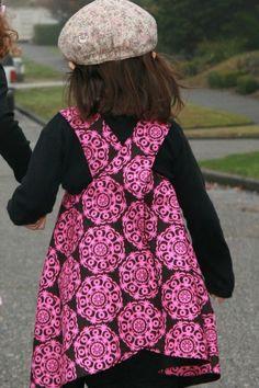 Reversable Pinafore Dress