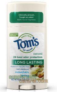 Tom's of Maine deodorant