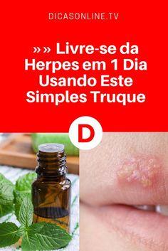 Remédios para herpes | Acabe com a herpes em 1 dia!