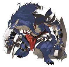 Duga - Characters & Art - Shining Force EXA