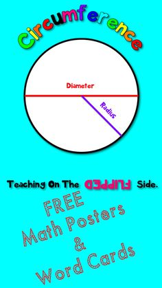 "love these!!! FREE MATH POSTERS: Free math vocabulary posters, word cards, and definition cards for key math terms......Follow for Free ""too-neat-not-to-keep"" teaching tools & other fun stuff :)"