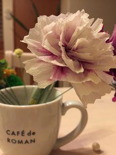 クレープペーパー crepe paper flowers