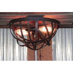Spin Rustic Two Light Flush Mount Chandi Lighting Flush Mount Flush & Semi Flush Lighting