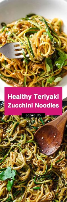 Get your fat-burning zucchini noodles ready in 20 minutes or less and 100% gluten-free. With just a handful of ingredients you have a delicious, healthy and effortless dinner for a busy weeknight.I…
