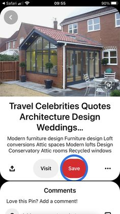 Attic Spaces, Attic Rooms, Conservatory Ideas Sunroom, Modern Furniture, Furniture Design, Recycled Windows, Loft Design, Celebration Quotes, Architecture Design