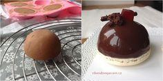 Dortíky s čokoládovou pěnou a višněmi Mini Cakes, Cheesecake, Pudding, Mousse, Desserts, Cupcakes, Food, Tailgate Desserts, Postres