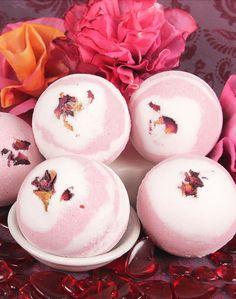 Цветочные бомбочки для ванны