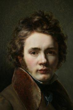 Jean-Augustin Franquelin - Autoportrait, 1820.