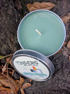 Green Room Tinders Soy Candle