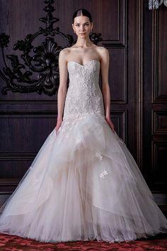 Monique Lhuillier Spring 2016 Wedding Collection. ~ Hot Chocolates Blog   #wedding #weddings #bride #groom #dress #cake #bouquet   www.hotchocolates.co.uk www.blog.hotchocolates.co.uk www.evententertainmenthire.co.uk