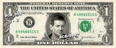 Rowdy Roddy Pipper on Real Dollar Bill WWE