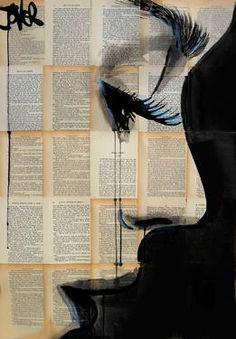 "Saatchi Art Artist Loui Jover; Drawing, ""solace"" #art"