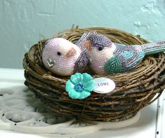 Pretty Beaded Birds By Meredith Dada   Beads Magic