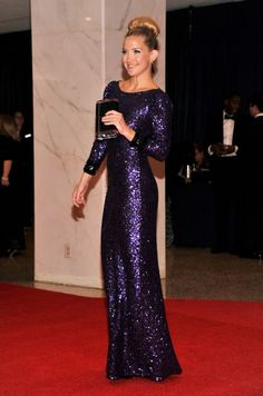 Kate Hudson at the White House Correspondent's Dinner ... I think I may be even crazier about the high bun