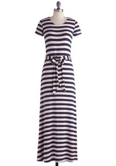 Waterfront and Center Dress, #ModCloth. Feeling spring, feeling beach. Feeling like I'd have to shorten this.