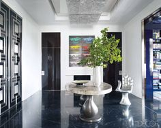 A Sophisticated Fifth Avenue Apartment - ELLE DECOR