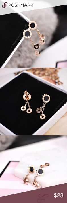 New beautiful earrings (super cute) Brand new and never used or worn. Super cute and pretty!!!          ❌no trade ❌no lowballing offers!!! Jewelry Earrings