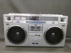 JVC 6 Band Stereo Radio Cassette Recoder Boombox