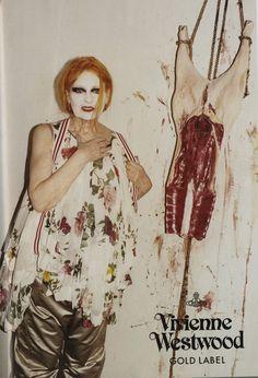 Vivienne Westwood 2010 Campaign by Juergen Teller.