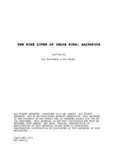 The Nine Lives Of Chloe King Ebook
