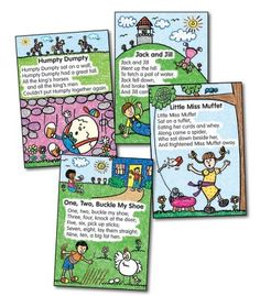 Nursery Rhymes: Kid-Drawn Bulletin Board Set - Carson Dellosa Publishing Education Supplies
