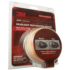 #Amazon: Amazon: 3M Auto Headlight Lens Restoration System $2.75 after $5 Rebate  Free S/H http://www.lavahotdeals.com/us/cheap/amazon-3m-auto-headlight-lens-restoration-system-2/48729