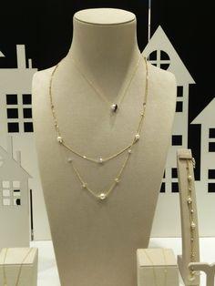 Μοντέρνα κοσμήματα με μαργαριτάρια  Τσαλδάρης στο Χαλάνδρι #jewels #pearls #fashion Chain, Jewelry, Fashion, Moda, Jewlery, Bijoux, Fashion Styles, Schmuck, Chains