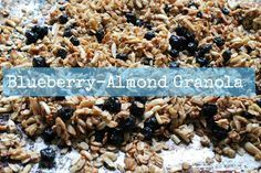 Blueberry-Almond Granola {guest post for Katie's Cucina} - from @Marnely Rodriguez-Murray