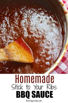 Really good homemade bbq sauce is so much easier to make than it seems. This bbq recipe is sweet, savory and slightly spicy with tips for making flavor and thickness variations. This is the best bbq sauce I have ever had. Homemade Barbeque Sauce, Make Bbq Sauce, Barbecue Sauce Recipes, Homemade Sauce, Bbq Sauces, Bbq Sauce Recipe Tomato Paste, Brisket Bbq Sauce Recipe, Kansas City Bbq Sauce Recipe, Grilling Recipes
