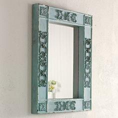 Wandspiegel Antik, Spiegel Landhaus, Shabby Spiegel, Vintage Spiegel