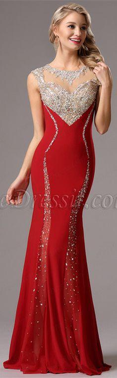 Sparkling red gown! #edressit #redgown #fashion #dress #eveningdress