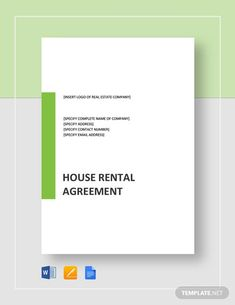 House Rental Agreement Template - Word (DOC)   Google Docs   Apple (MAC) Apple (MAC) Pages   Template.net Rental Agreement Templates, How To Improve Relationship, Word Doc, Real Estate Companies, Microsoft Word, Letter Size, Being A Landlord, Renting A House, Google Docs