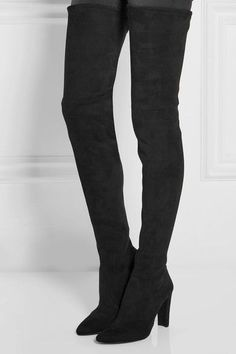 Stuart Weitzman - Alllegs Ultrastretch Over-the-knee Boots - Black