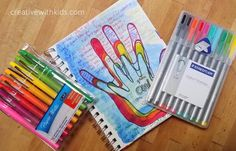 Art Journal With Kits Prompts - Many Art Journal Prompts and Ideas.