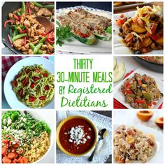 Thirty 30-Minute Meals by Registered Dietitians