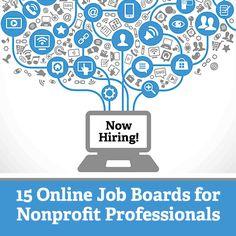 15 Online Job Boards for Nonprofit Professionals