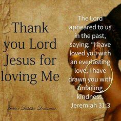 I have loved you...