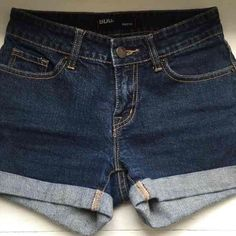 """BDG Shorts  (Urban Outfitters) ✨SALE 10% OFF!✨ From UO these """"Shortie"""" style denim shorts are cut short with cuffed hem and low-rise waist. Cotton with a bit of of spandex stretch for comfort. Zip-fly and button waist closure. Classic 5 pocket design. Machine wash. Waist/Size: 25 //No flaws // Excellent condition. Fits true to UO/BDG sizing. Originally $39 BDG Other"""