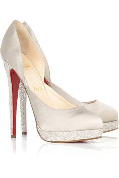 eaf5ccfe2 perfect mix between elegant and sassy! my kinda shoes. Christian Louboutin  Shoes