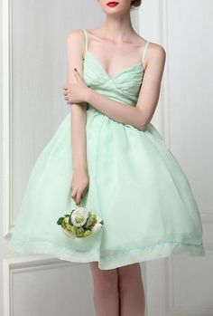 Wedding Mint Green, Midi Dresses Online, Dress Online, Mint Dress, Green Dress, Spring Wedding Colors, Vintage Prom, Ballet Tutu, Mint Color