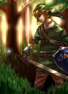 So many memories of my boys playing Zelda video games.