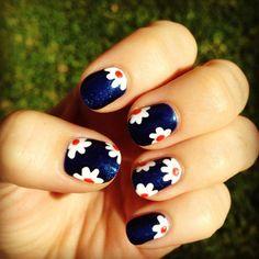 Spring nail art - 35 Unique Nail Designs | Art and Design