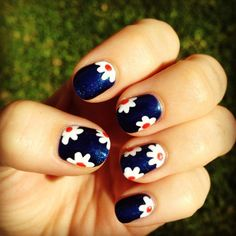 Spring nail art - 35 Unique Nail Designs   Art and Design